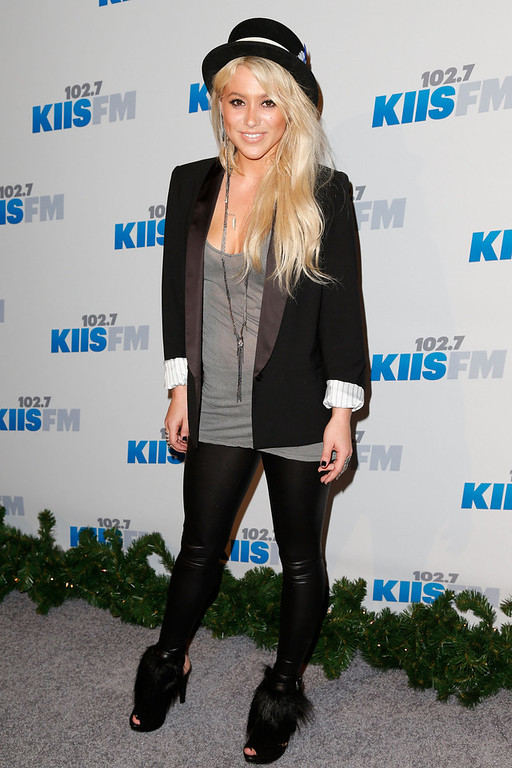 . Singer/songwriter BC Jean attends KIIS FM\'s 2012 Jingle Ball at Nokia Theatre L.A. Live on December 3, 2012 in Los Angeles, California.  (Photo by Imeh Akpanudosen/Getty Images)