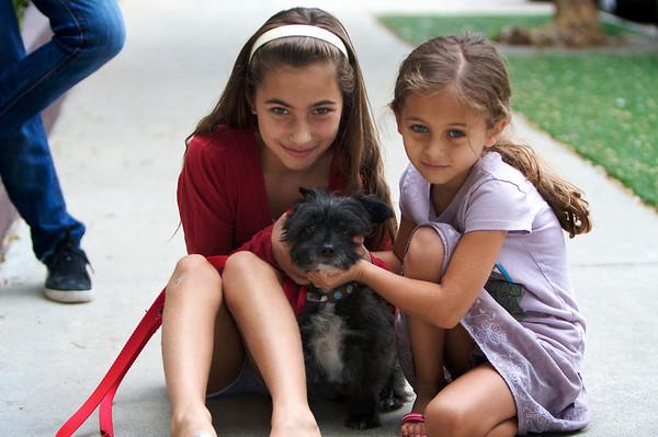 Ava and family 8-28-2010
