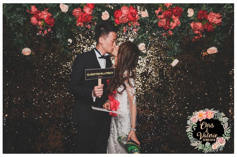 Wedding o Chris & Valerie | © www.SRSLYPhotobooth.sg