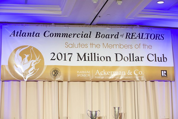 2017 Million Dollar Club Banquet ACBOR