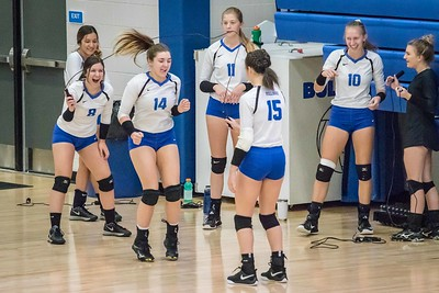 DHS Volleyball 10-13-2018