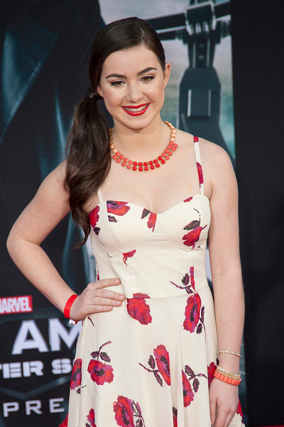 HOLLYWOOD, CA - MARCH 13: Actress Sarah Gilman arrives at Marvel's 'Captain America: The Winter Soldier' premiere at the El Capitan Theatre onThursday,  March 13, 2014 in Hollywood, California. (Photo by Tom Sorensen/Moovieboy Pictures)