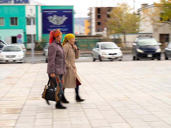Bayan Ulgii town main square