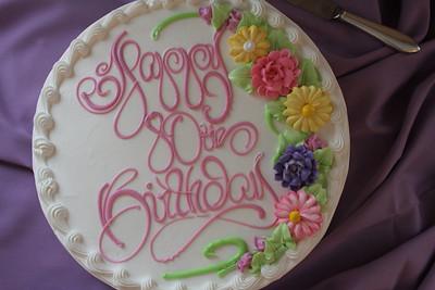 Grandma Margaret's 80th Birthday