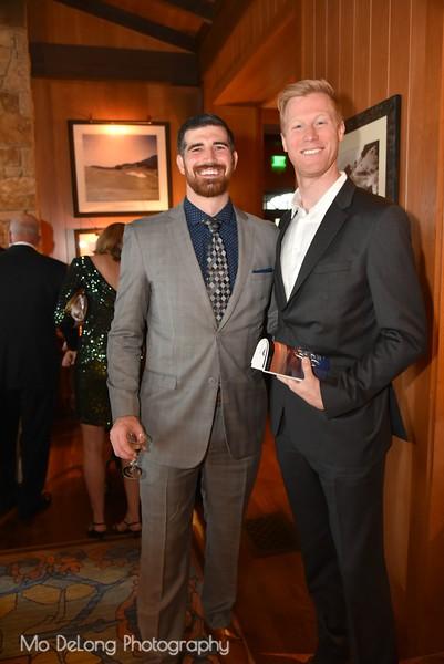 Andy Victor and Chris Barton