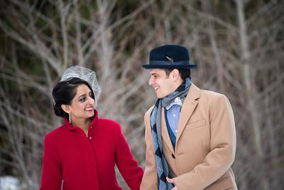Chandani & Ray Wedding - January 31st - Whistler
