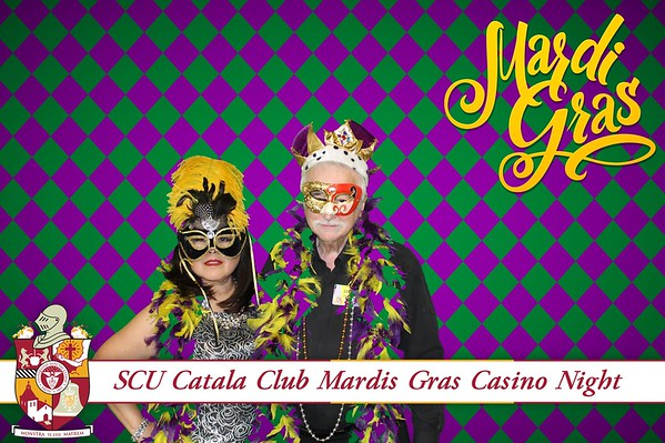 SCU Catala Club Mardis Gras Casino Night 2017