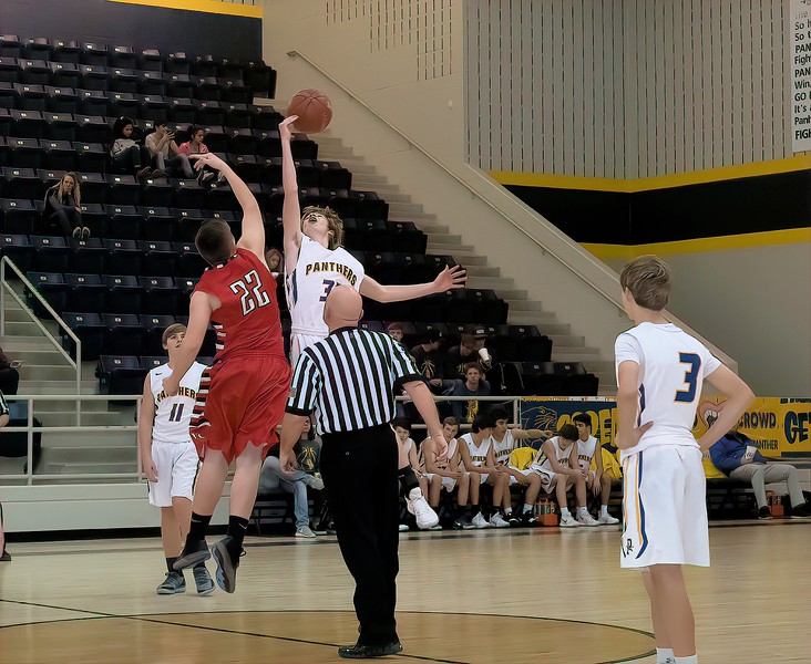 Panhandle Panthers JV vs Friona, 12-18-2018