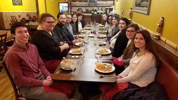 Community Life - OCF Compline Dinner - February 19, 2018