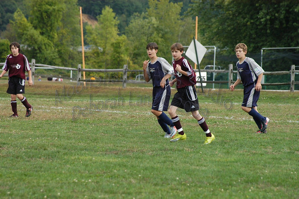 Seacoast U13 Boys vs Concord Express Fall 2010