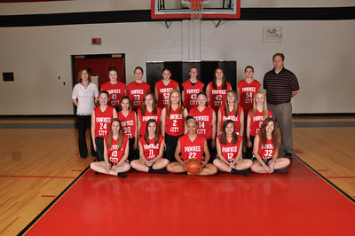 PC Jr High Girls Basketball MM 2013