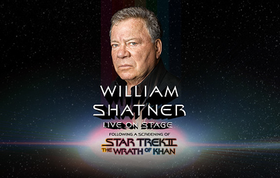 William Shatner - The Wrath of Khan