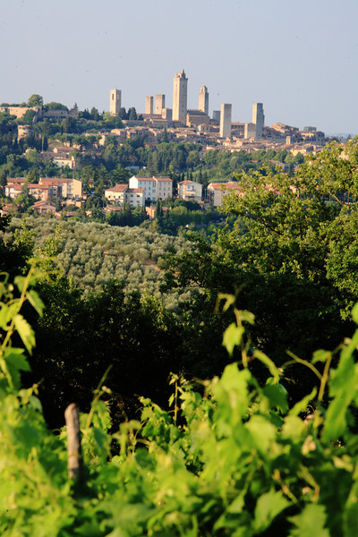 San Gimignano, the town of ancient skyscrapers and tourist traps.