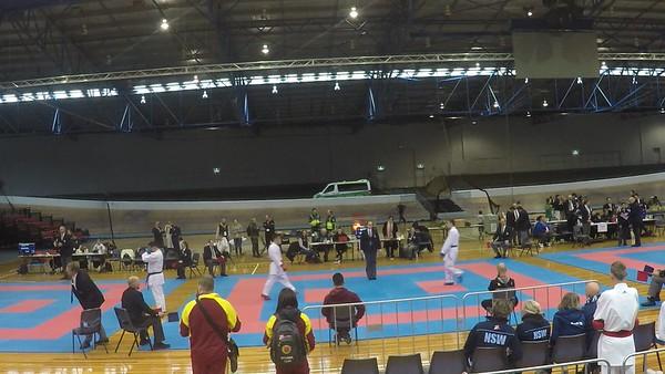 2019-08-03 AKF Nationals Cadet U63kg Kumite