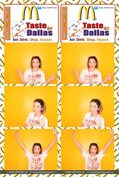 McDonald's-Taste of Dallas Friday