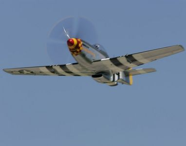 F15 Heritage/P51 Flight