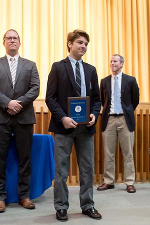 Freshman & Junior Varsity Athletic Awards Ceremony –November 13, 2019
