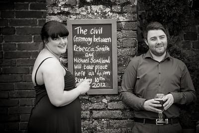 Becky & Michael Wedding Day