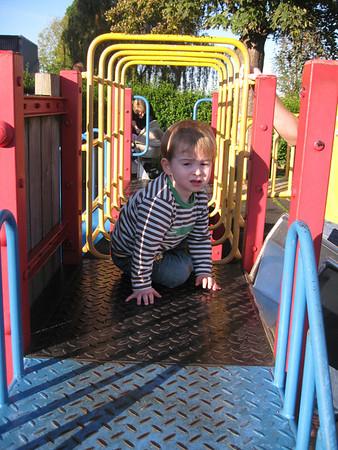 Playing at Hollybush