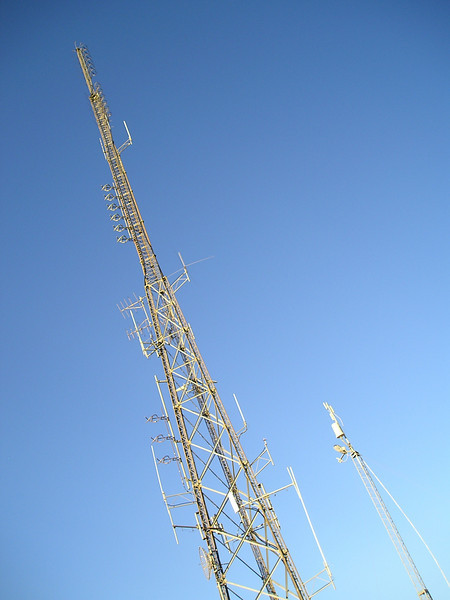 Here's that radio tower! We're here!