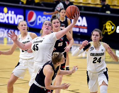 Photos: Colorado WBB played Western Colorado in Boulder