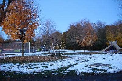 Fall Snow, Willing Park, Tamaqua (10-30-2011)