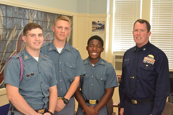 Cadets Considering Coast Guard Academy Application