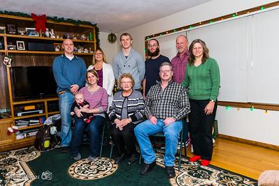 Family - Jim Busse Family - Dec 25, 2014