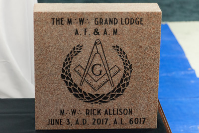 Amity Lodge #473 100th Anniversary Cornerstone Ceremony - 5/3/2017