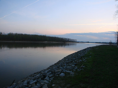 New Harmony, IN, Wabash River 2012-03