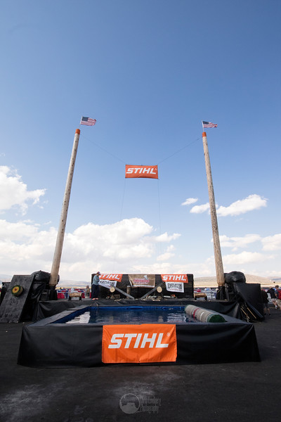 Stihl Timbersports Trailer and Pool