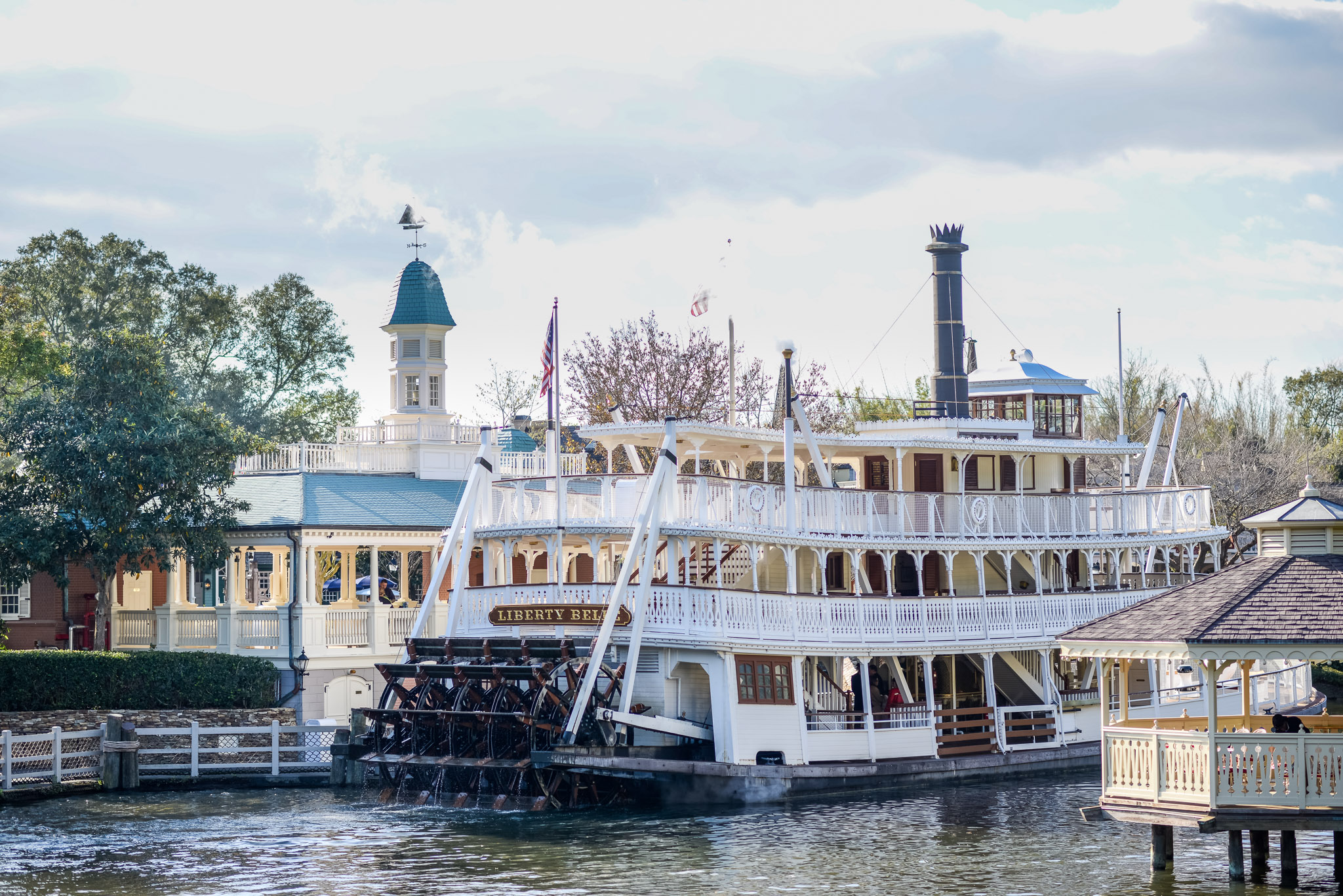 Liberty Belle Riverboat - Walt Disney World Magic Kingdom