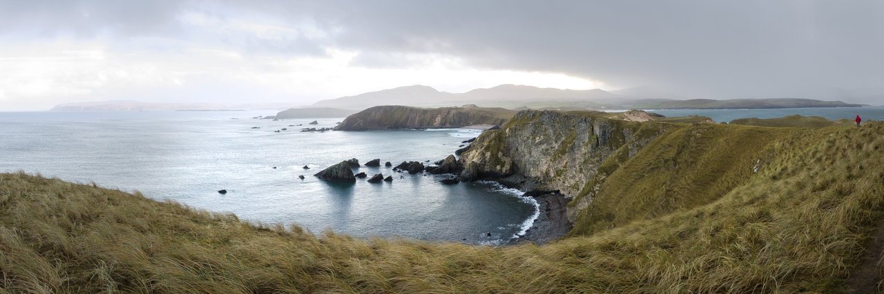 NC500 - Durness - Walking back to Balnakeil Beach from Faraid Head