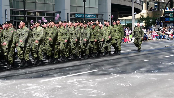 DAY 1 - 2012 July 6 Video Stampede Military In Parade