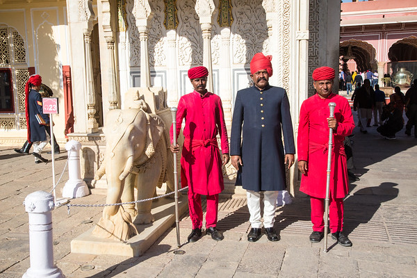 City Palace of Jaipur, India - December, 2015