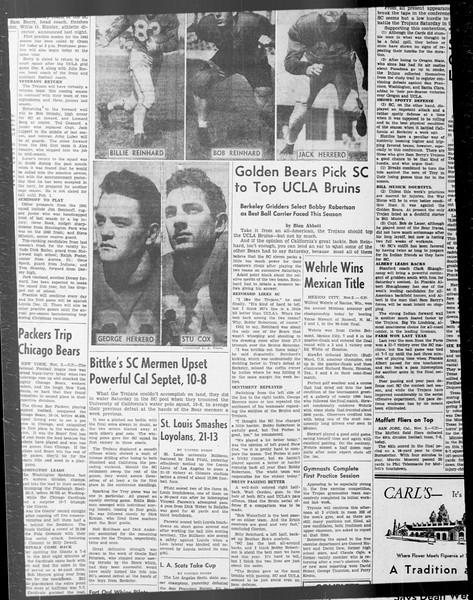 Daily Trojan, Vol. 33, No. 32, October 23, 1941