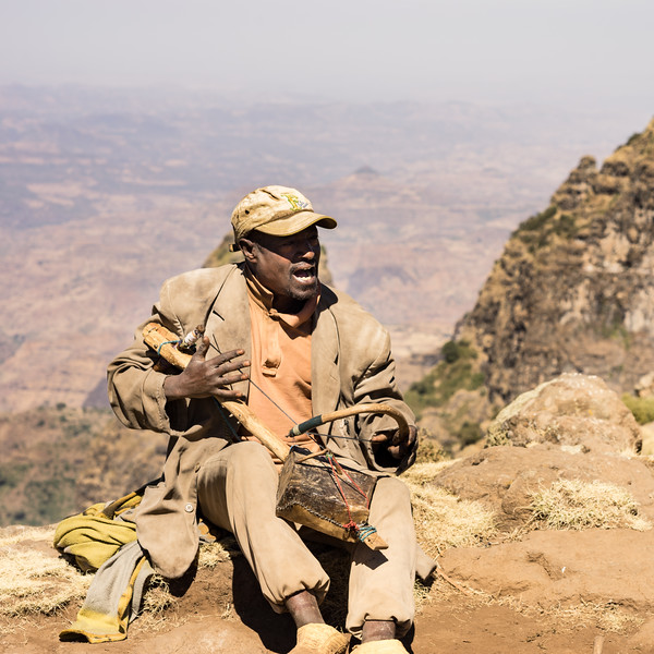 Simien Mountains Busker