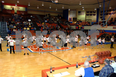 Marshall County Dance Team Performance With Assistance From The Junior Workshop Dancers February 13, 2010.