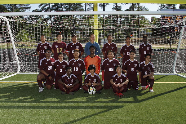 2018 Boys Soccer  JV