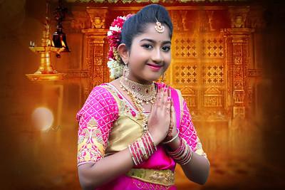 Bhavitha's Half Saree Ceremony