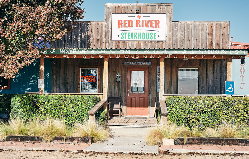 Route 66 - Red River Steakhouse, McLean, Texas