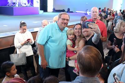Taste of the Nations - celebrating Pastor Rick's 65th Birthday