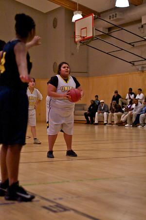 Girls' basketball VS Cal Prep-1/16/2013