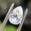 2.49ctw Antique Pear Diamond Pair GIA E VS2/GIA D VS2 5