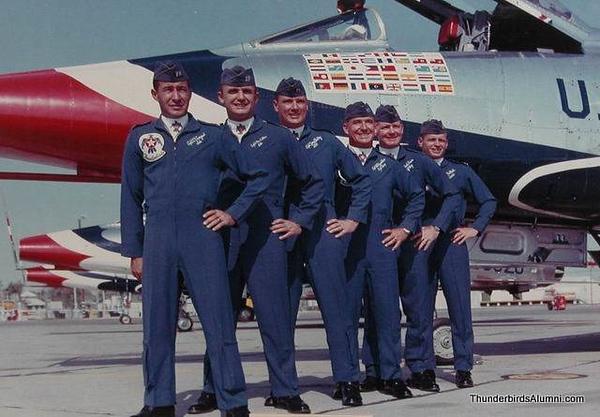 1964 Pilots F-100D