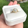 1.97ctw Antique Cluster Ring, GIA G SI2 31