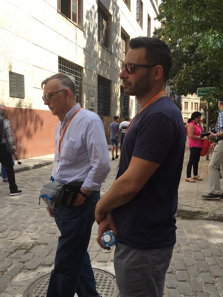 John and Jeremy explore Havana - Kristin Cass