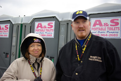 Lets go the races March 2008 with Vince and Tammy!