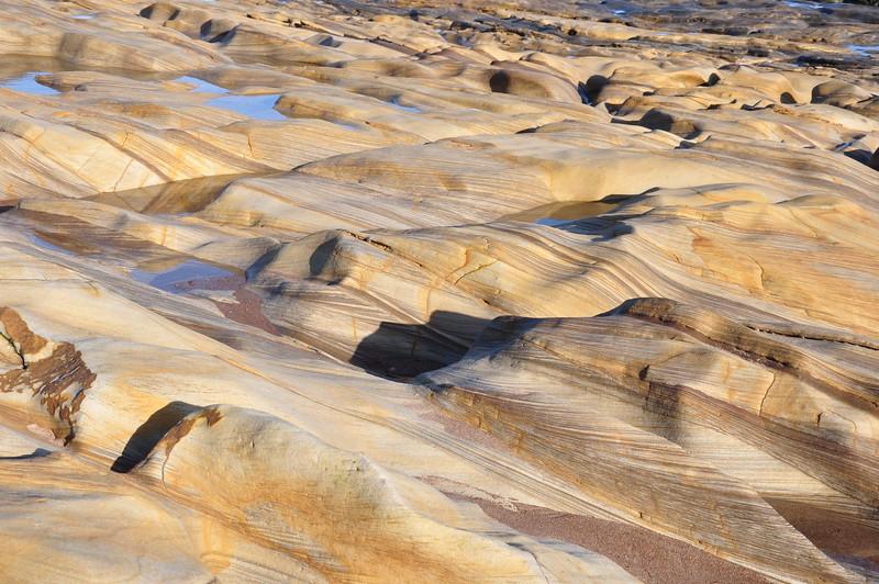 Sandstone formations, Spittal Beach- Richard Cowen - DSC_0190.JPG