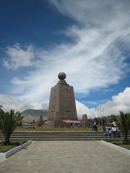 Middle of the World (Equator) Monument, Ecuador